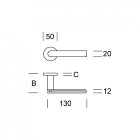 2H15 - kľučka antikorová-technický list