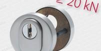 Okrúhla rozeta ES 92351 safe