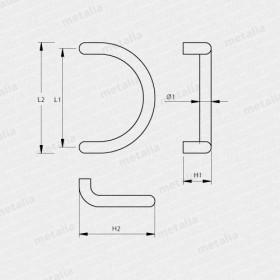 madlo Design alu 2600-technický list