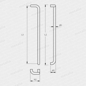 madlo Design alu 2800-technický list