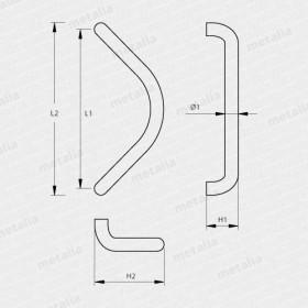 madlo Design alu 2902-technický list