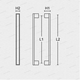 madlo Design alu 989 NE-technický list