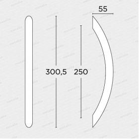 madlo 129 - nikel mat-technický list