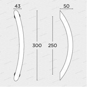 madlo 129v - nikel mat-technický list