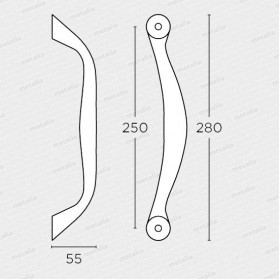 madlo 627 - mosadz mat-technický list