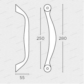 madlo 627 - nikel mat-technický list