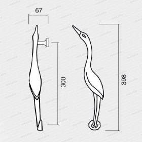 madlo Bocian M18-technický list