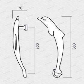 madlo Delfín M18-technický list