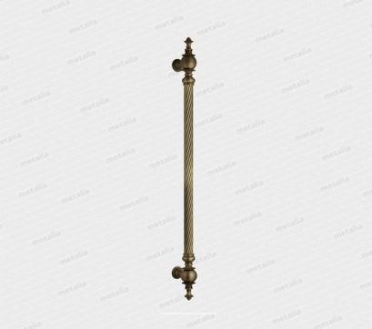 madlo Modena - mosadz bronz česaný