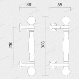 madlo Parma M3-technický list