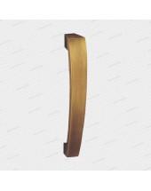 madlo Quadrato - mosadz bronz česaný