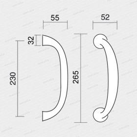 madlo Trevi M4-M18-technický list