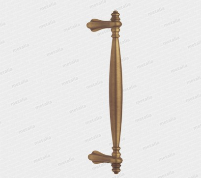 madlo Virgillio - mosadz bronz česaný