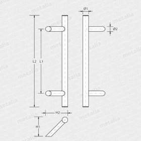 madlo Tesero 45°-technický list
