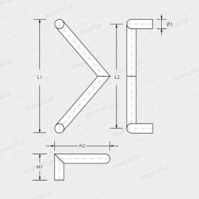 madlo Triangolo-technický list