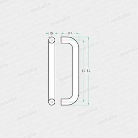 objektové madlo PH60-technický list
