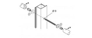 madlo obojstranné - montáž na drevo, hliník, PVC